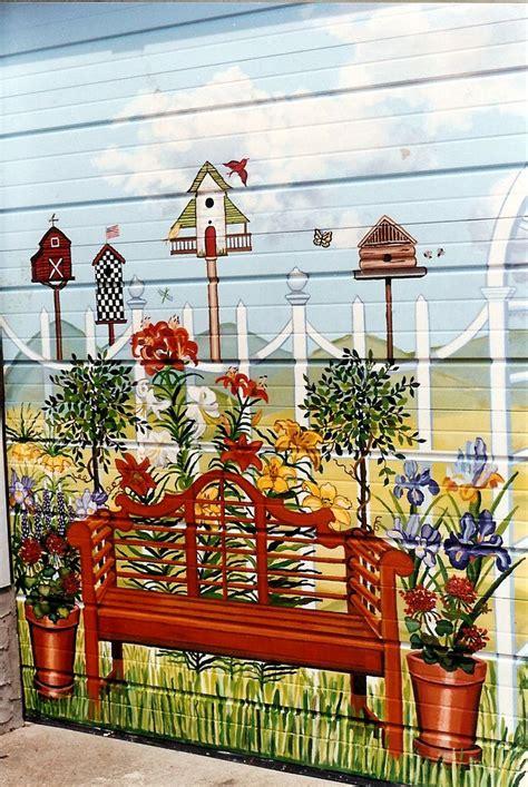 Garden Mural Ideas 25 Best Ideas About Garden Mural On Mural Ideas Painted Wall Murals And