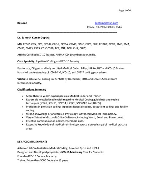 coding resume coding trainer resume authorstream