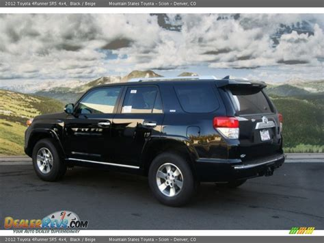 Toyota 4runner Sr5 2012 2012 Toyota 4runner Sr5 4x4 Black Beige Photo 3
