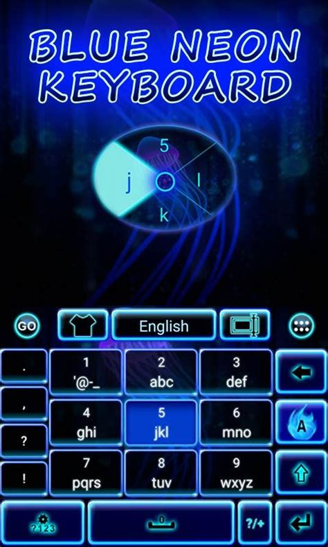 go keyboard themes neon blue blue neon go keyboard theme android apps on google play