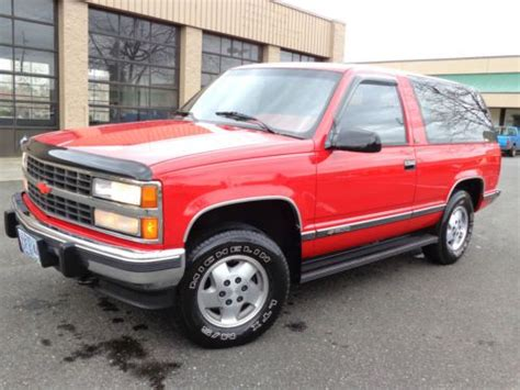 Blazer X4 sell used 1992 chevy size blazer 1500 silverado 4x4 gmc 1994 1995 1996 1997 1998 1999 in