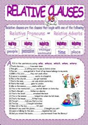 all these worksheets and activities for teaching relative