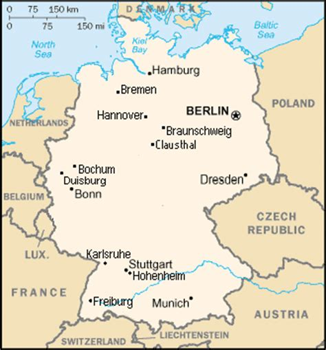 map of bochum germany office of programs for study abroad program details