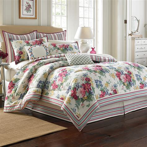 ashley bedding laura ashley melinda comforter set from beddingstyle com