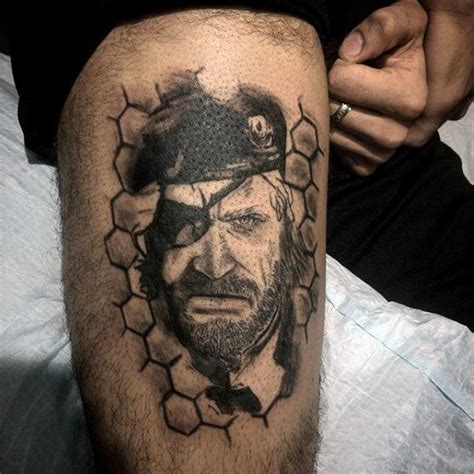 metal gear tattoo 50 metal gear designs for gaming ink ideas