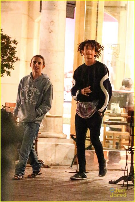 when jaden and willow smith moises and mateo arias came jaden smith hangs with kickin it s mateo arias photo