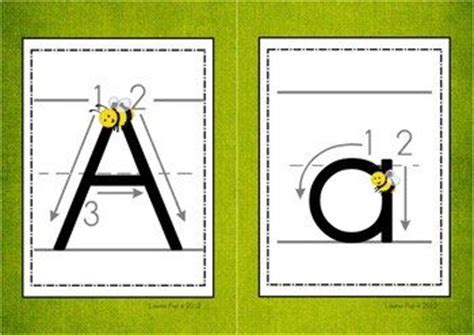 printable tracing alphabet cards alphabet handwriting cards with directional arrows buggy
