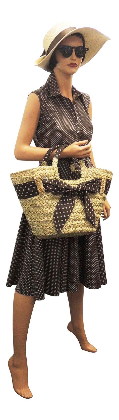 Oz Sweater Polka Abu new retro vtg 1940 s 1950 s shirt tea dress with small polka dots