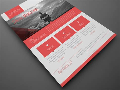 indesign poster template premium member benefit corporate flyer templates