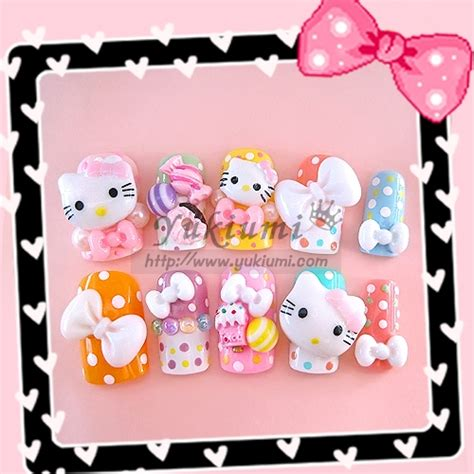 Japan Joyme Nail Sticker Nail Nail Sticker Kuku 603 aneka produk hello istimewa untuk hadiah bagi orang yang istimewa