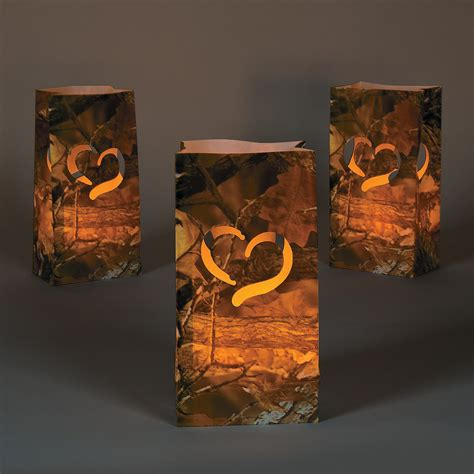 Camo Wedding Decor by Camouflage Wedding Luminary Bags Lights Special