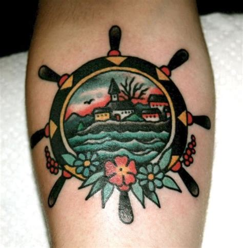 helm tattoo design 24 best tattoo traditional helm images on pinterest