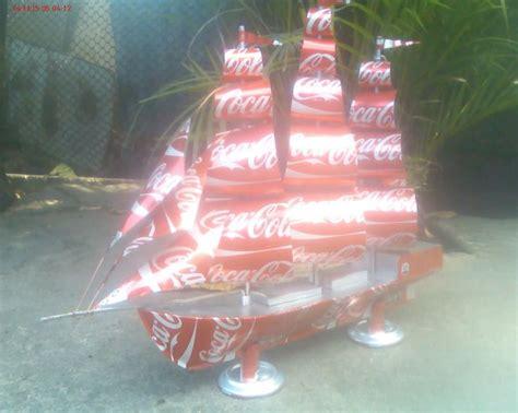 como elaborar un barco de material reciclabe barco velero a escala hecho con material reciclado o latas