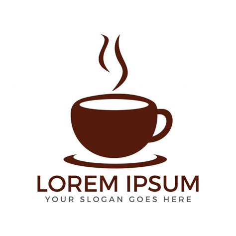 coffee shop vector design cup of coffee vector logo design coffee shop logo vector
