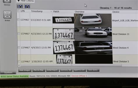 license plate reader license plate readers are being used to record