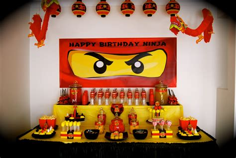 Online Home Decoration by Lisa S Busy Little Life Ninjago Party