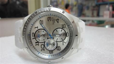 Jam Tangan Pria Original Swatch Irony Chrono Ycm4007ag jual swatch irony mavi shop