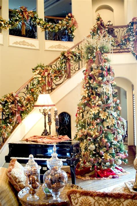 pictures of homes decorated for christmas on the inside christmas decorations for home interior house and decoration