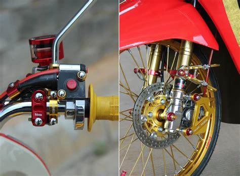 Tabung Minyak Rem Honda scoopy langsing berkelir cabe pelangi