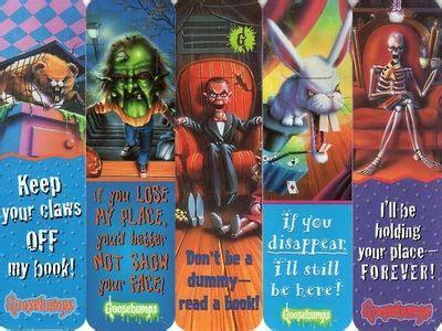 printable goosebumps bookmarks goosebumps bookmarks r l stine pinterest posts