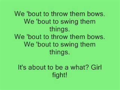 girlfight lyrics fight lyrics