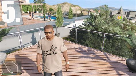 haircut deals gta new franklin haircuts with beard personnages pour gta v