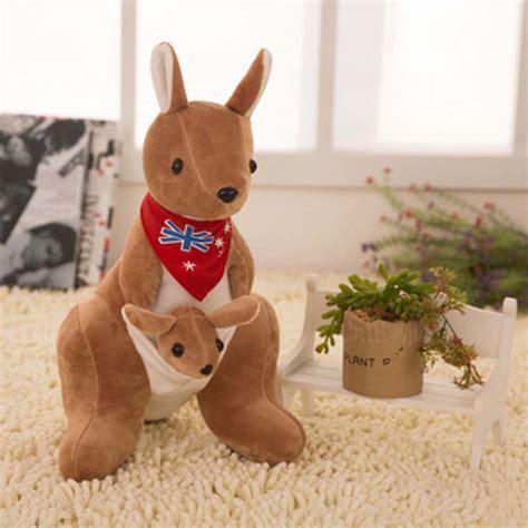 new year animals toys 20cm stuffed plush animals australian mini kangaroo