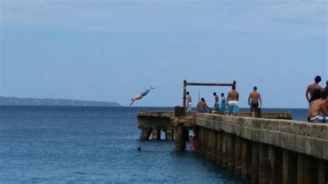 crash boat beach rentals this is me jumping from the bridge picture of crashboat