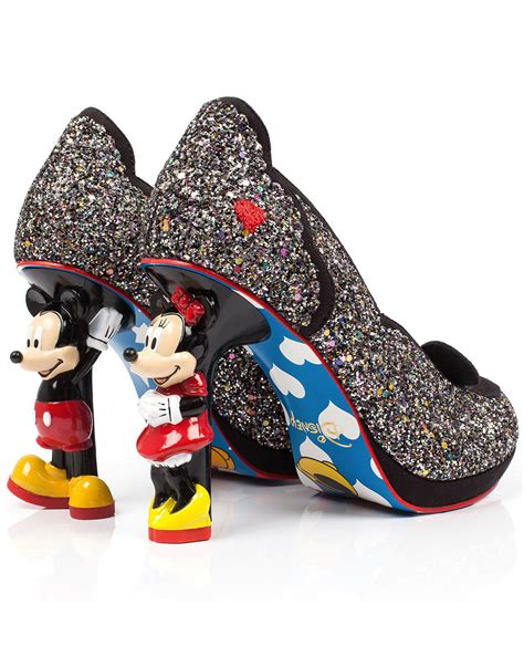 Disney Mickey Shoes 5 irregular choice mickey minnie mouse disney character heels