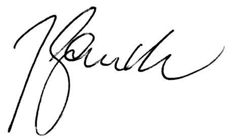 Signature by File Joachim Gaucks Signature Png