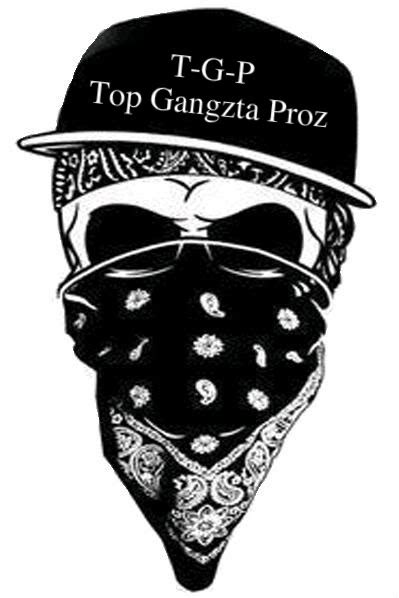skull bandana tattoo designs gangsta skull with hat and bandana design