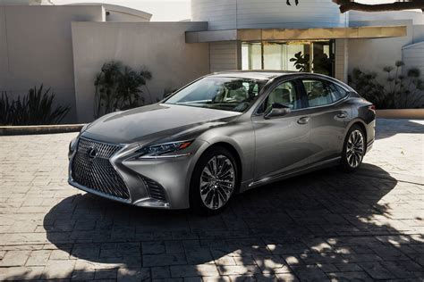 Ls Value by Lexus Unveils New Ls Flagship Sedan With More Power