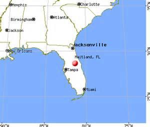 where is maitland florida on a map maitland florida fl 32751 profile population maps