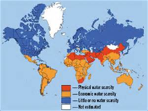 Water World Map by Water Scarcity Is Leading To Conflicts Islamic Voice