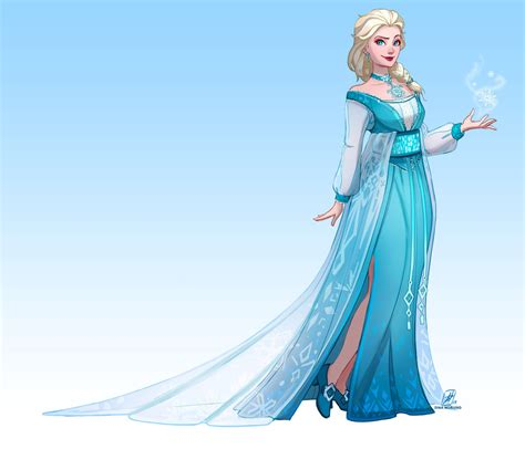 design elsa dress game redesigning elsa s dress speedpaint by coalbones on