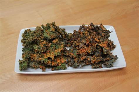 dehydrator recipe kale chips with garlic and cashews