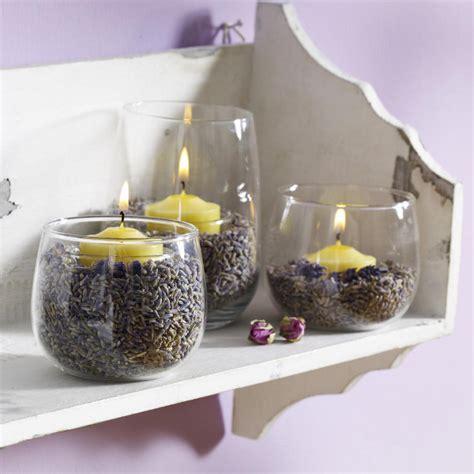dekoration kerzenhalter dekoration mit glas kerzenhalter lavendelduft pictures