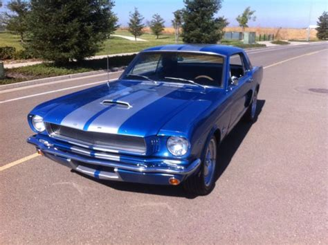 65 mustang gt for sale 1966 65 ford mustang g t 350 shelby tribute restomod 289