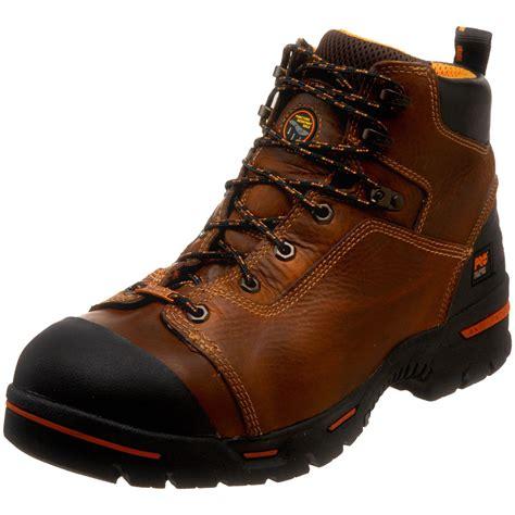 timberland waterproof work boots timberland endurance pro waterproof 6 work boot in brown