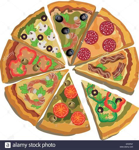 vector pizza label or poster design template pizza design menu stock vector art