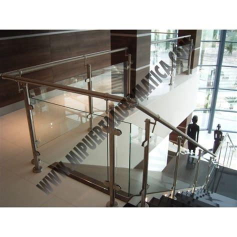 barandillas de acero inoxidable y cristal barandilla acero inoxidable y cristal ref 047