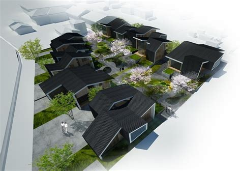 community housing in gawa community housing proposal index architecture archdaily