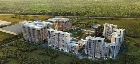 Modern Architecture Floor Plans Godrej The Trees Vikhroli East Project Mumbai