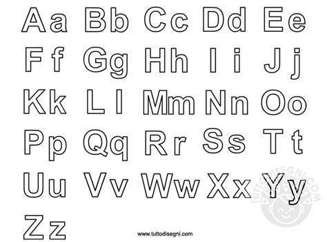 disegni con le lettere lettere alfabeto da colorare tuttodisegni