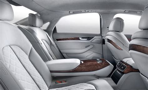 the audi a8 has the nicest interior of any car on the
