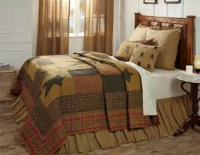 7pc stratton country primitive quilt shams skirt