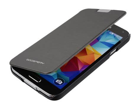 Flip Cover S5 samsung galaxy s5 goospery techno flip cover black feelcase