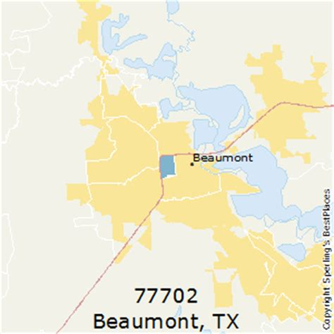 beaumont texas zip code map best places to live in beaumont zip 77702 texas
