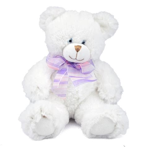 Boneka Polar Soft Animal Doll White Teddy Be Bisa Gojek small dena the soft white teddy by and at