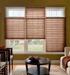Uses for pleated shades as different types of window treatments